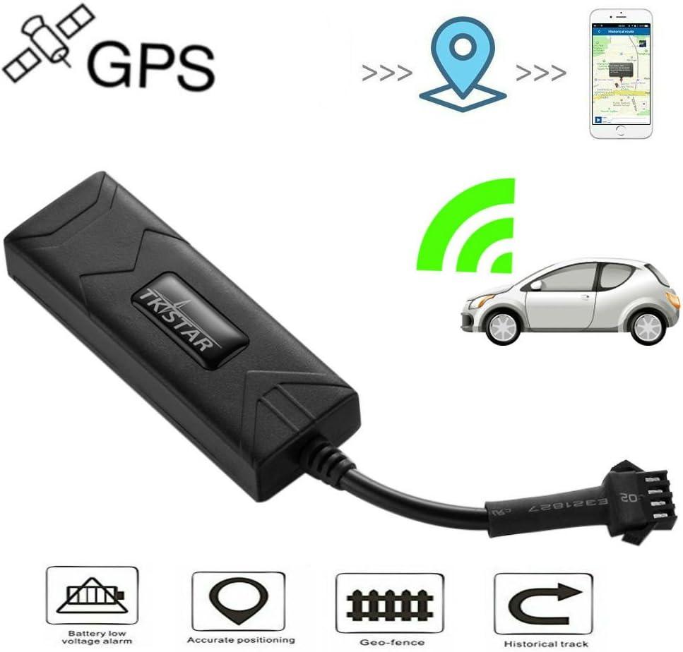 TKSTAR Rastreador GPS , localizador batería incorporado Coche GPS para Seguridad y Sistemas Alarma Antirrobo Auto Moto