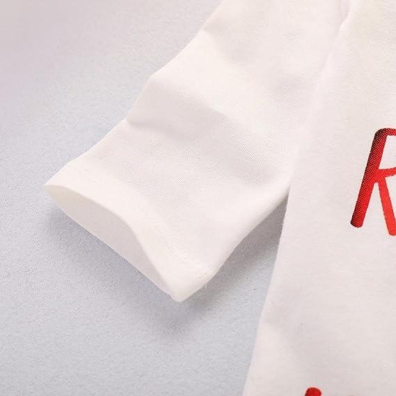 K-youth Body Bebe Manga Larga Ropa Bebe Recien Nacido Niña Otoño Invierno Infantil Niño Monos Mameluco Camiseta Tops + Arco Iris Pantalones + Sombrero ...