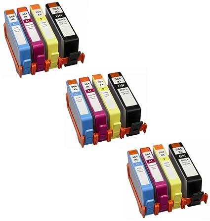 Prestige Cartridge 12 XL Cartuchos de Tinta para HP Deskjet ...