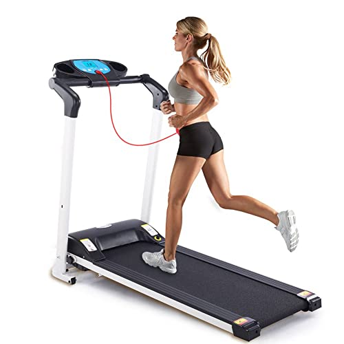 Lontek Folding Treadmill for Small Spaces Cardio Training Equipment for Home