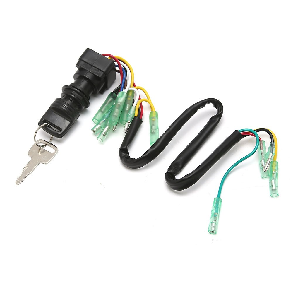 Rupse Ignition Switch Key Assy Yamaha Outboard Motor Vmax Wiring Control Box 703 82510 43 00 Sports Outdoors