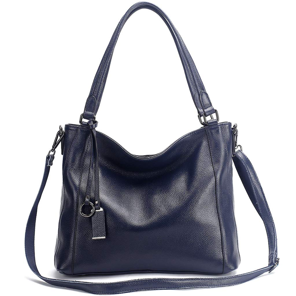 bluee KB Ladies Handbag Genuine Leather Fashion