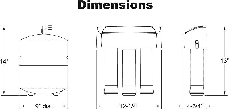 Whirlpool WHER25 - dimension