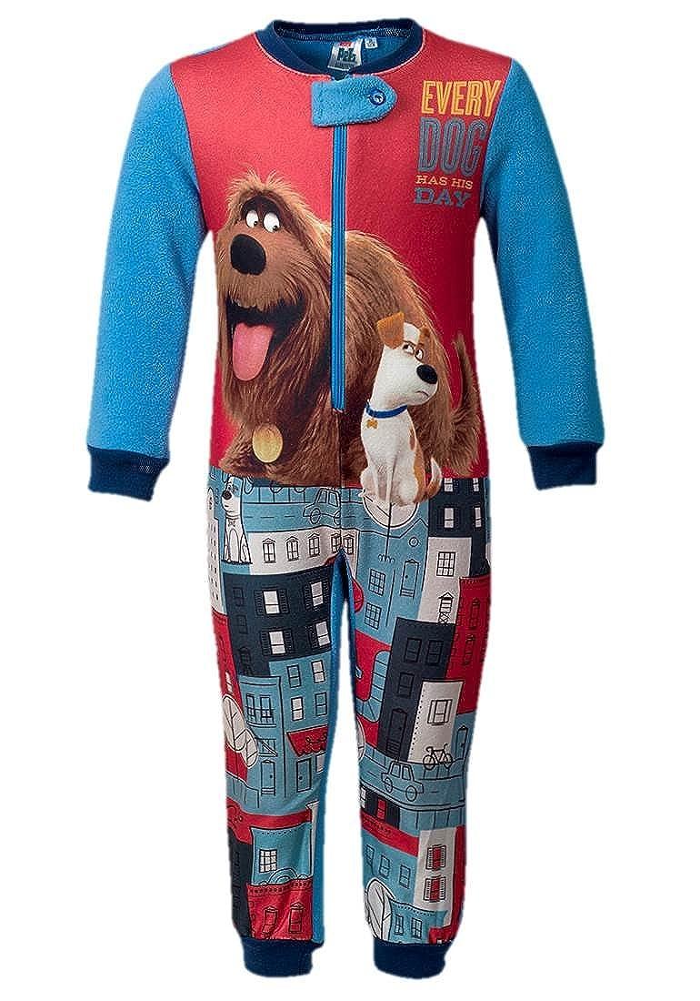 Pyjama grenouill/ère secret life of pets pyjama comme des b/êtes