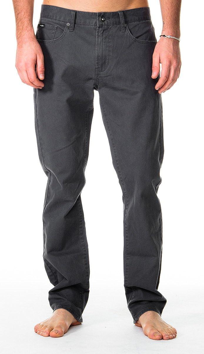 RVCA Mens Daggers Slim-Straight Twill Pants