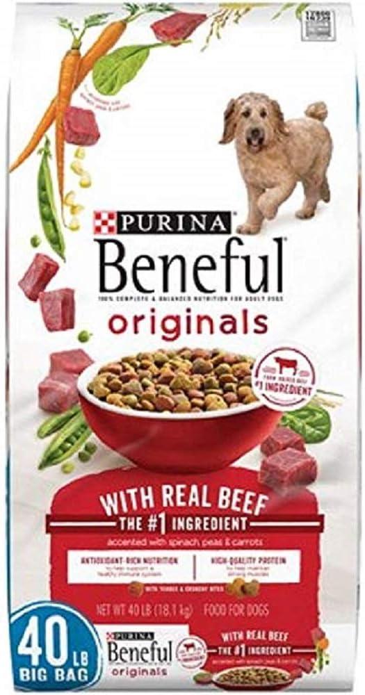 Purina Beneful Originals Adult Dry Dog Food (Beef, 40 LBS.)