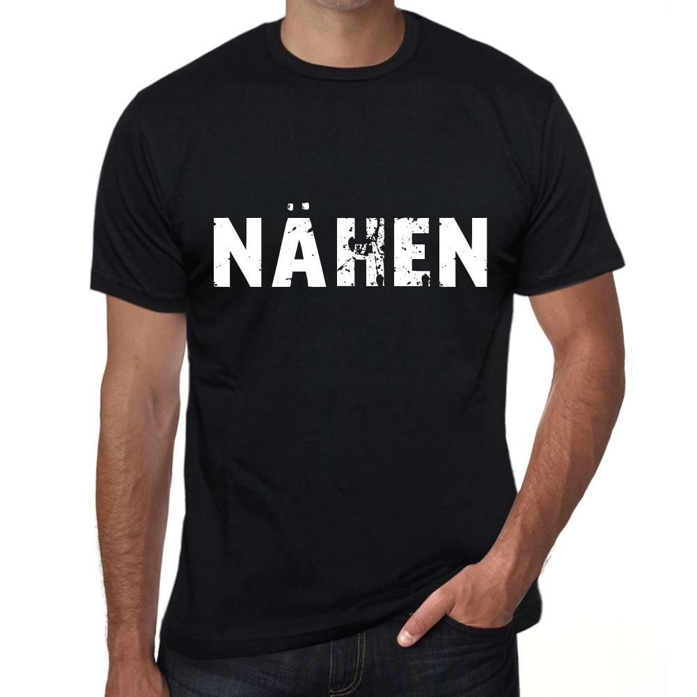 Amazoncom One In The City Nähen Mens T Shirt Black Birthday Gift