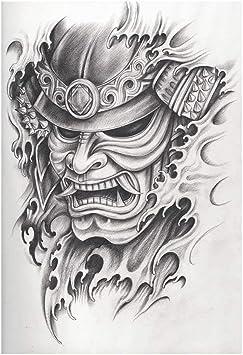 Kabuki Masque Decoratif Pour Photographie Motif Guerrier Samourai Dessin En Colere Expression Histoire Illustration Decorative Pour Photographie 99 X 149 9 Cm Multi 01 39 W X 59 H Amazon Fr Photo Camescopes