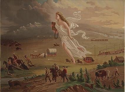 Amazon Vintage Americana Poster