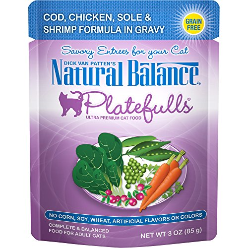 Natural Balance Platefulls - Cod, Chicken, Sole & Shrimp