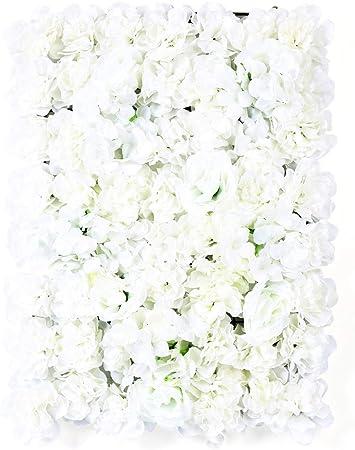 20PCS Künstliche Blumenwand Hochzeit Hintergrund DIY Blumen Straße//Säule 40*60CM