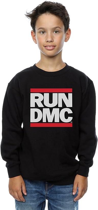Run DMC Bambini e Ragazzi Classic Logo Felpa: Amazon.it