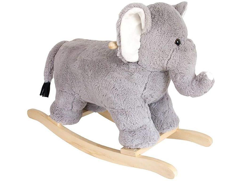 JaBaDaBaDo H14000en Peluche à Bascule éléphant, Gris Jabadabado AB Jabadabado_H14000