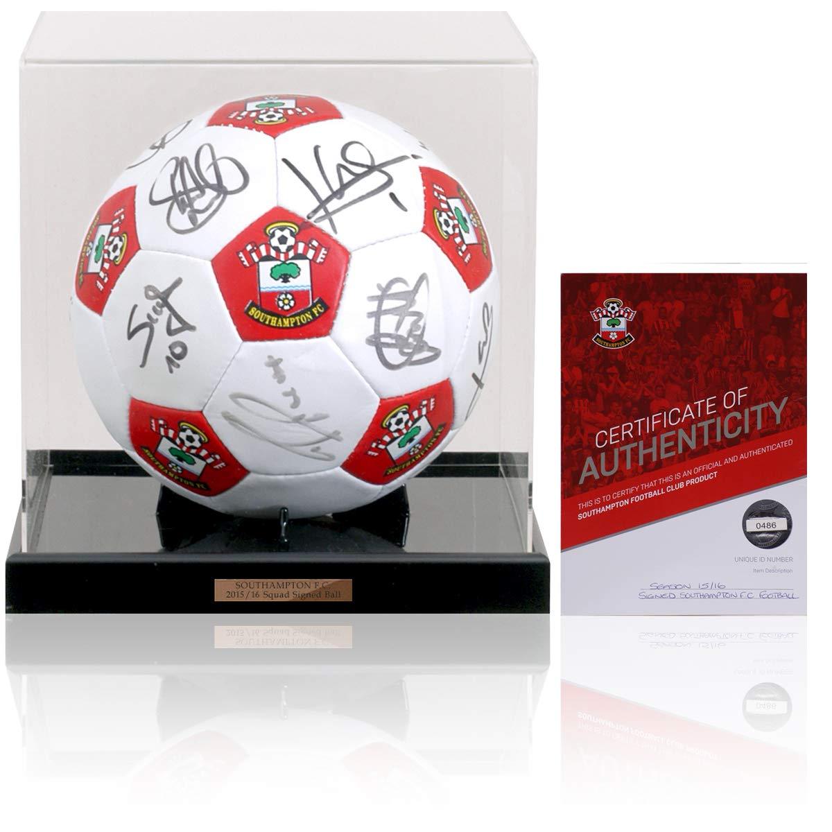 British Sports Museum Southampton FC - Balón de fútbol Firmado a ...