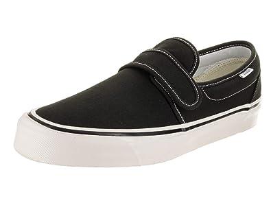 78eadc406e28 Vans Men s Slip-On 47 V DX (Anaheim Factory) Black Skate Shoe 13