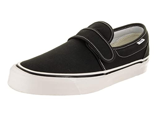c39077dbc3d Vans Slip Ons Men Anaheim Factory 47 V DX Slip-Ons Black  Amazon.co.uk   Shoes   Bags