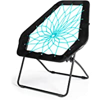 OCC Bungee Cord Dish Chair (Hexagon),Bunjo Chair High Intensity and Secure, Fun for Adults and Kinds