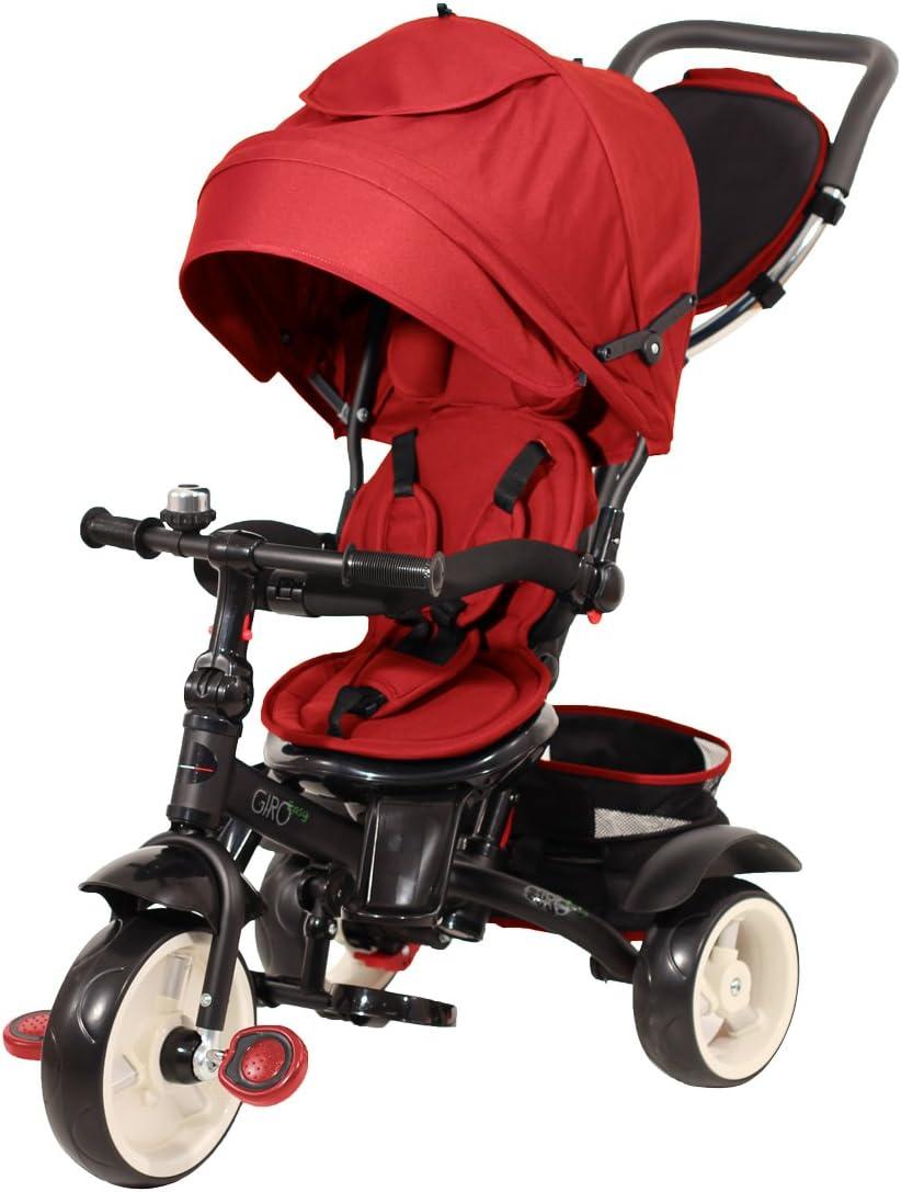 Baby 's Clan giroeasy.05–Triciclo, Color Rojo
