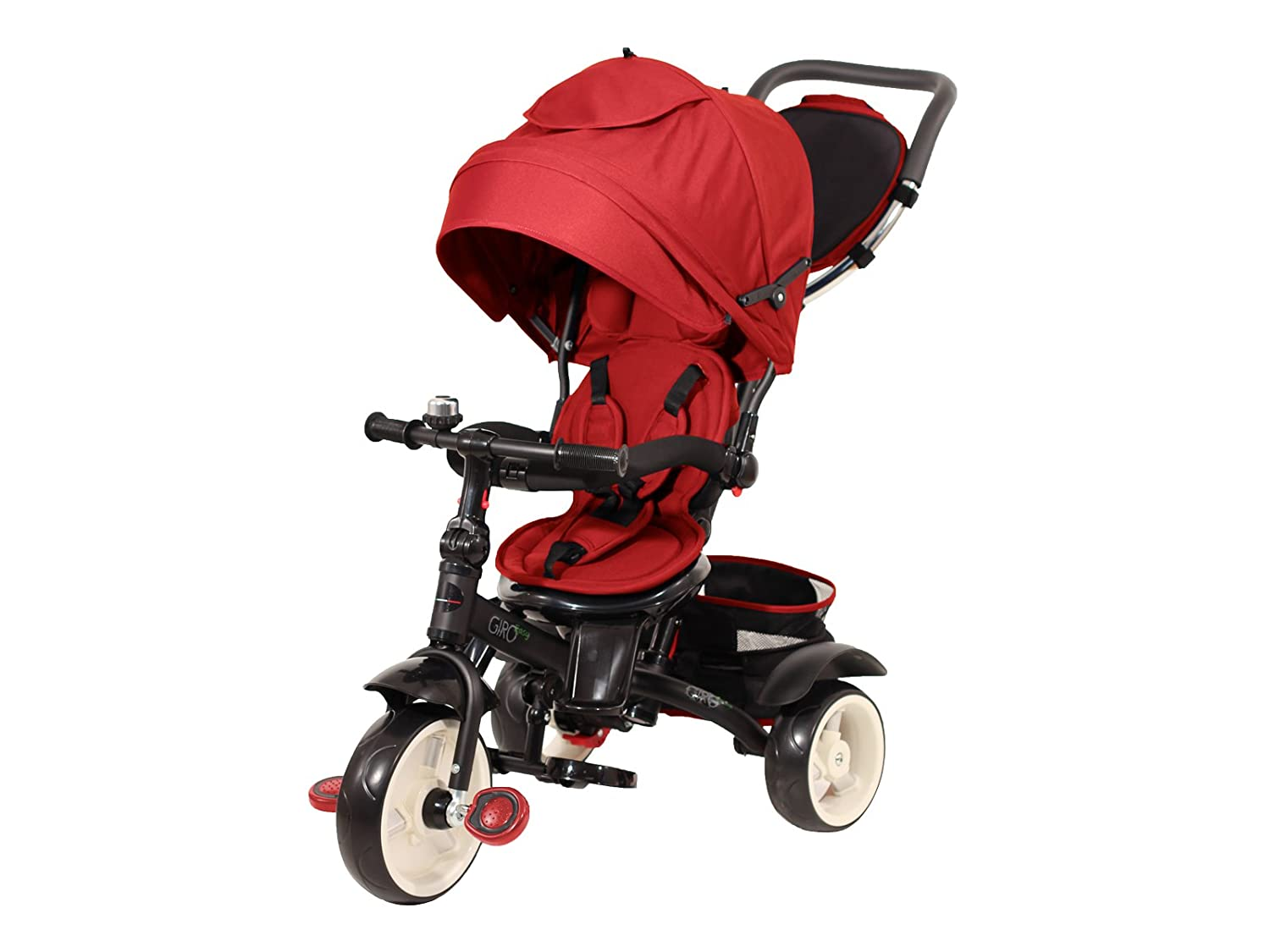 Baby's Clan Triciclo, colore Rosso, Giroeasy.05