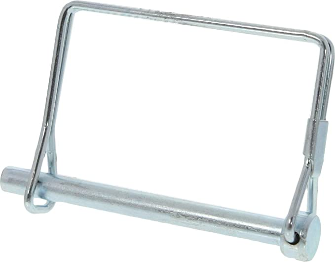 SE Zinc Plated 8 mm Hitch Coupler Pin HTP8
