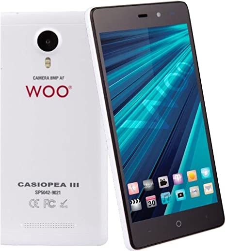 Woo - Telefono movil Smartphone casiopea 3 Blanco 5