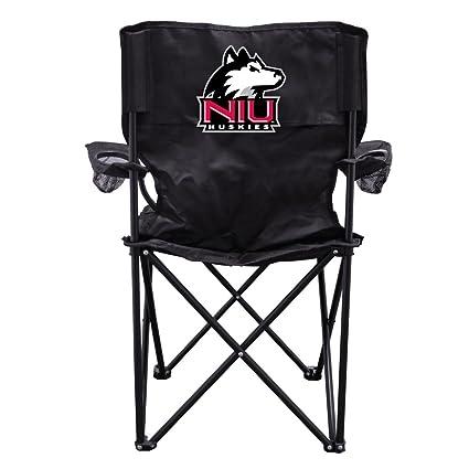 Amazon.com: Universidad del Norte de Illinois Huskies Negro ...