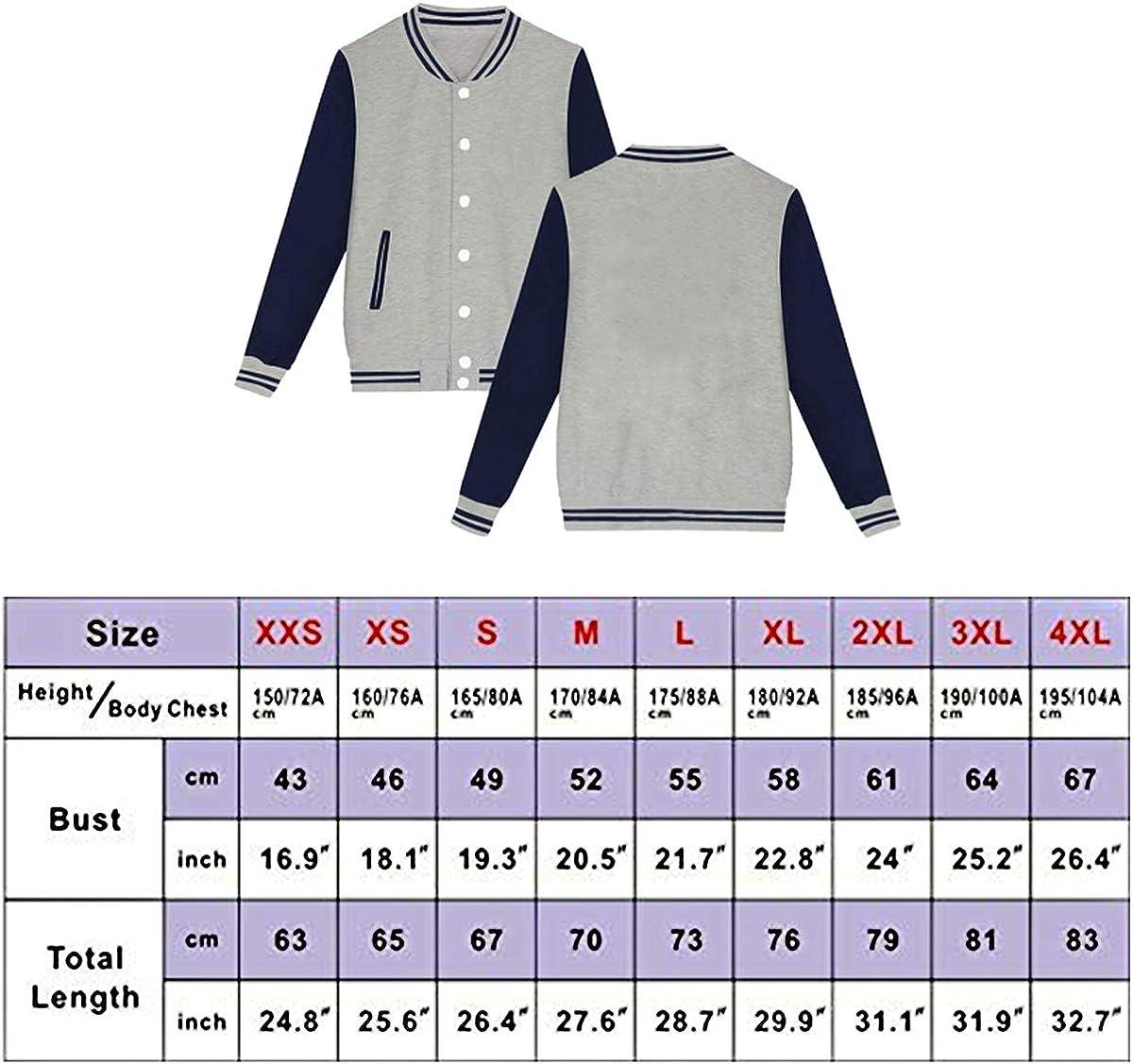 Herd That Cow Unisex Baseball Uniform Jacket Fashion Varsity Uniform Winter Coat