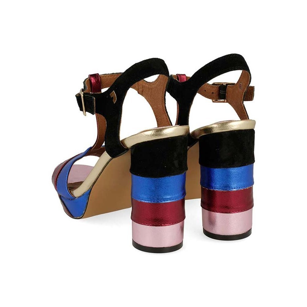 Gioseppo Colores Hxbrodtsqc Zapatos Tacón Sandalias Metalizadas N0wk8PXnZO