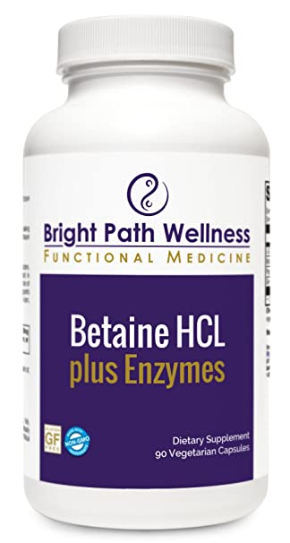 Amazon.com: Betaine HCL Plus enzimas – 90 caps – l-glutamic ...