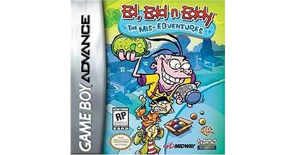 Amazon Com Ed Edd N Eddy Mis Edventures Nintendo Gameboy Advance