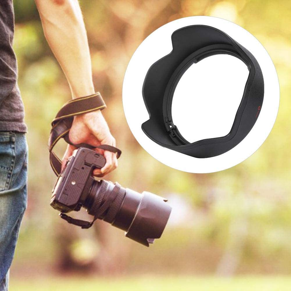 EW-60F Plastic Camera Mount Lens Hood Shade Lens Protector for Canon 18-150mm F//3.5-6.3 is STM Lens Suitable for Backlight//Side Light//Flash Photography Tosuny Lens Hood