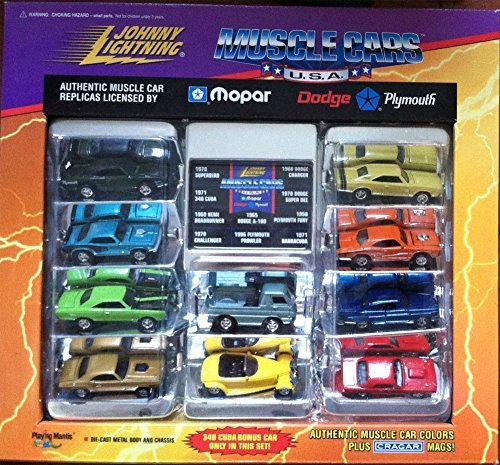 Johnny Lightning Musclecars Muscle Car Mopar Limited Edition