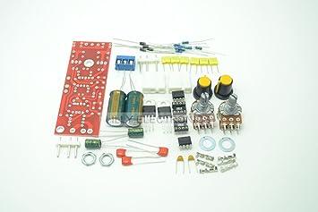 Q-BAIHE Low-Pass Filter Preamplifier AC 12-15V DIY Kit: Amazon co uk
