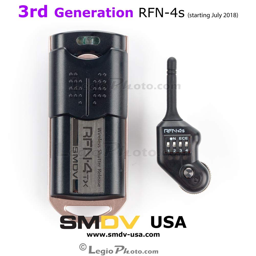Rfn 4s Wireless Remote Shutter Release For Nikon Dslr Imaging Products Parts And Controls D800 D800e With Mc30 Type Connection D200 D300 D300s D500 D700 D810 D1