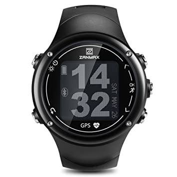 Z Zanmax Reloj Dportivo Smart Watch, Impermeable de Nivel 5ATM, Análisis de Datos de