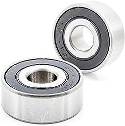 2x 63//22-2RS Ball Bearing 22mm x 56mm x 16mm Rubber Seal Premium RS 2RS QJZ