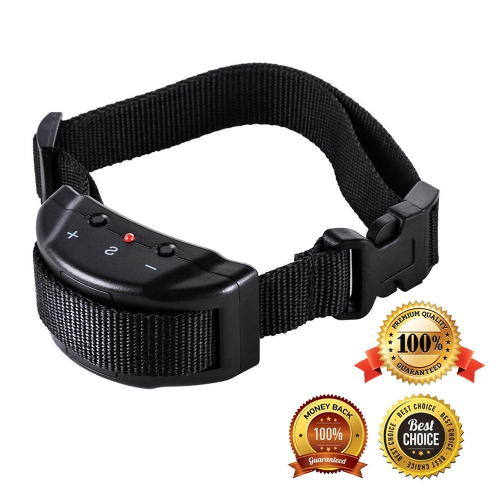 Amazon.com: Pet Dog No Bark Trainer Adjustable Sensitivity Sound Bark Stopper Collar: Home & Kitchen