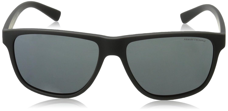 c02665496e7 Armani Exchange Men s Injected Man Rectangular Sunglasses  Armani Exchange   Amazon.in  Clothing   Accessories