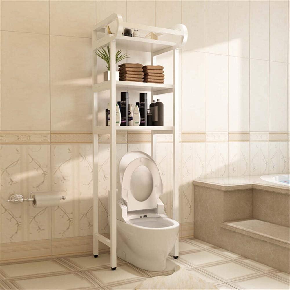 浴室のロッカー トイレ収納棚棚浴室のストレージはタオルレールと自立ユニットロッカースタンド 組み立てと使用が簡単 (色 : 02, Size : 50 x 30 x 167cm)