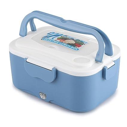 Calefacción eléctrica Lunch Box portátil plástico, hornillo eléctrico de coche, para el del conductor