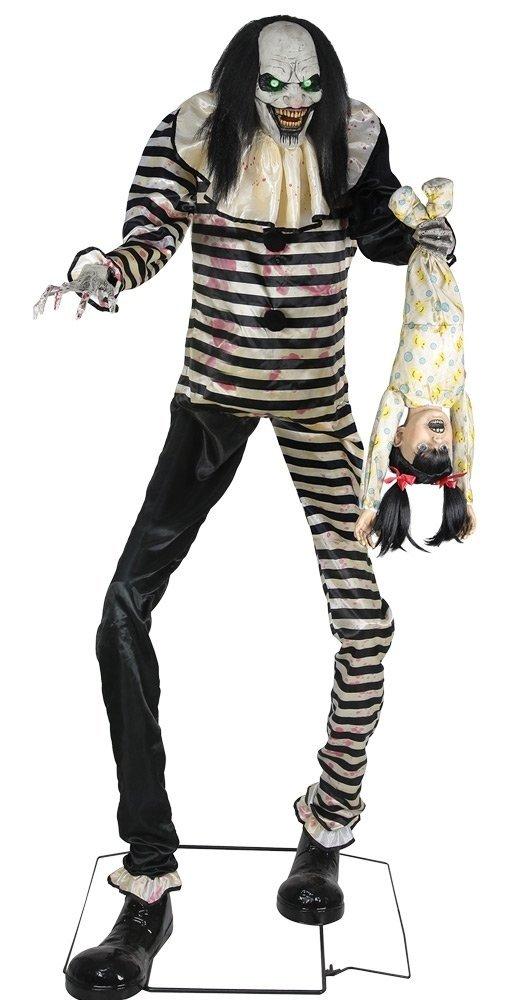Seasonal Visions Animated Sweet Dreams Clown Prop