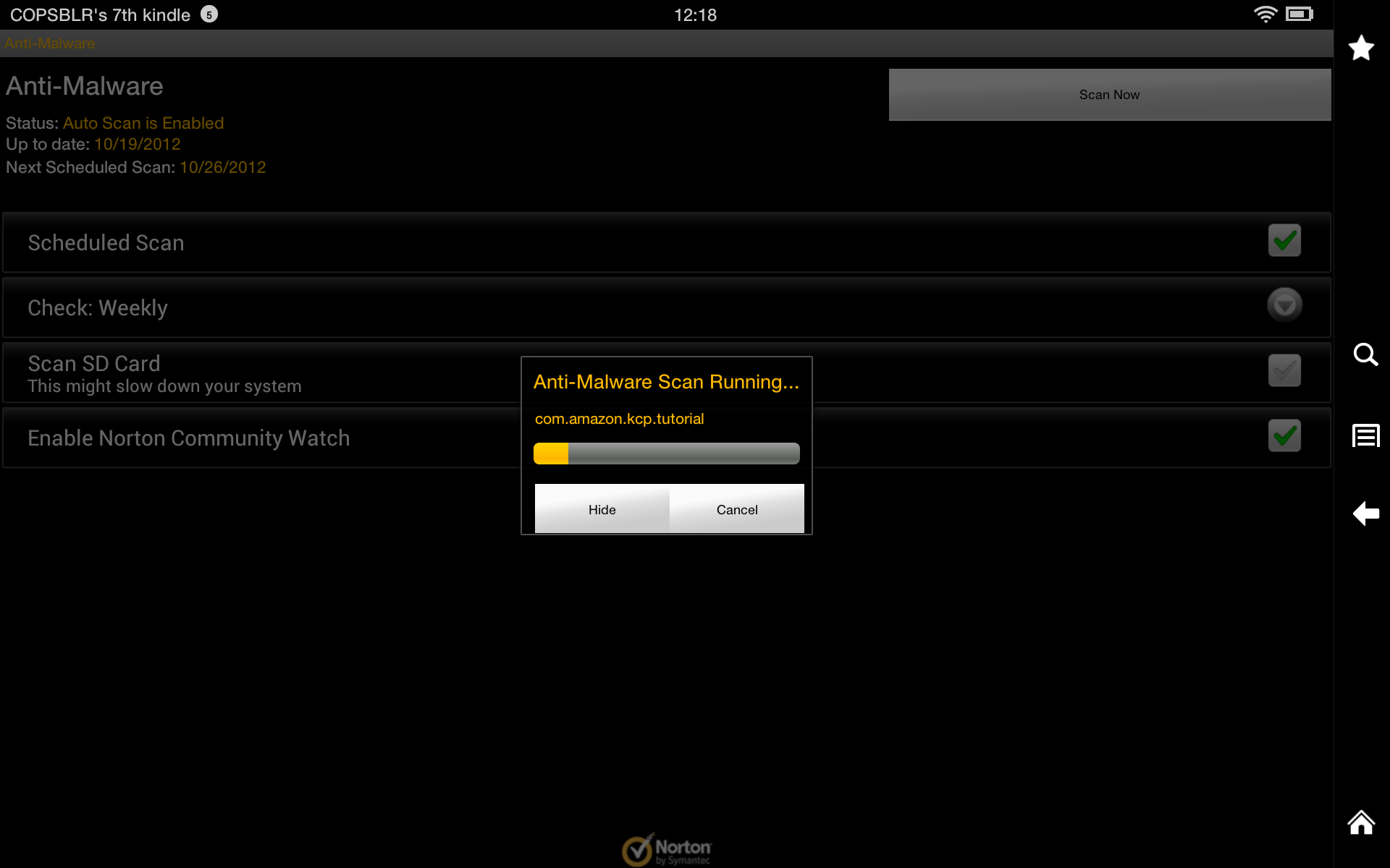 Norton Mobile Security - Kindle Tablet Edition - Import It All