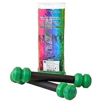 Sonido Sonajero mancuernas Pesas de fitness mancuernas mancuernas mancuernas: Amazon.es: Deportes y aire libre