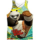 Kung Fu Panda Mens Dragon Warrior Mens Tank White