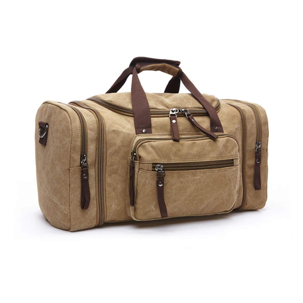 DICPOLIA Canvas Travel Duffle Bag Large Luggage Bag for Sport /& Business