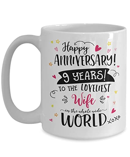9th Wedding Anniversary Gift.Amazon Com 9th Wedding Anniversary Gifts For Her
