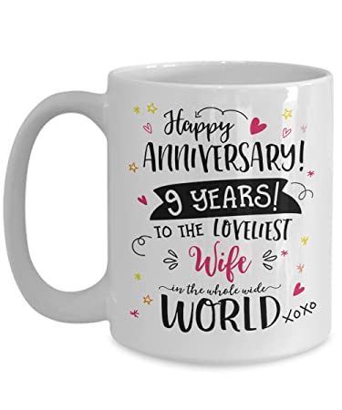 Amazon 9th Wedding Anniversary Gifts For Her Loveliest Wife