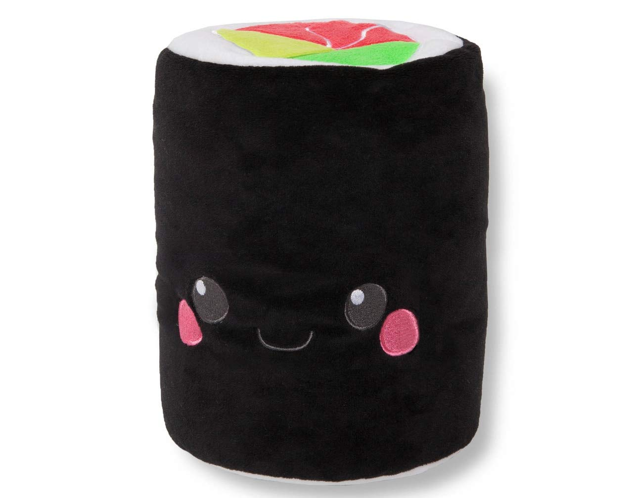 QE Home Convertible U-Shaped Travel Neck Pillow Sushi Black