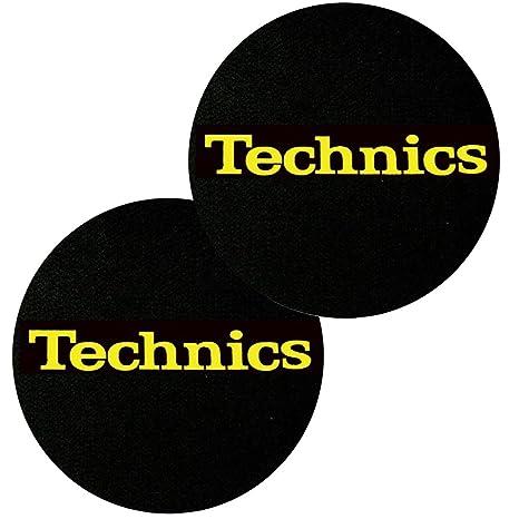 Slipmats par de paños sottodisco para tocadiscos DJ: Amazon ...