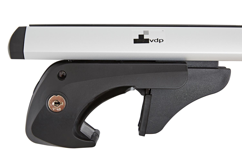 Alu Relingtr/äger VDP004XL kompatibel mit VW Touareg 7P5 ab 10 bis abschlie/ßbar